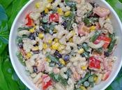 Salade Pâtes Pasta Salad Ensalada سلطة المعكرونة