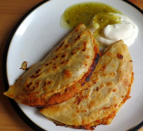 Crispy Two Potato Tacos