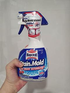 Magiclean Stain and Mold Remover Works!