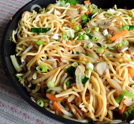 Vegetable Chow Mein (small batch)