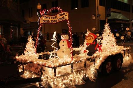 Go for this theme to emphasize a strong message of hope, blessedness and godly grace. We Like Her: Our Christmas Parade Float - The Beginning