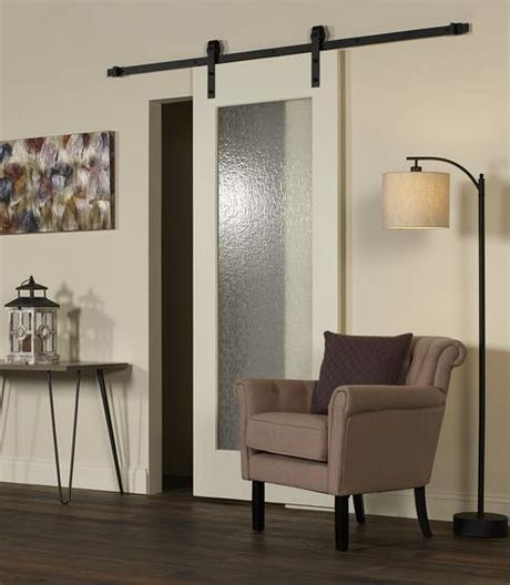 A contemporary, sleek style for a different look (info sheet) Glass Barn Doors by LTL Home Products, Inc.