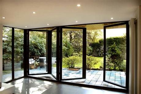 Designed for a singularly sleek look. Housing Trends Shaping With Glass Bifold Doors - Safe Climate
