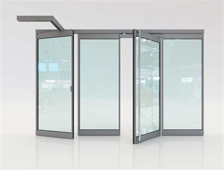 Shop glass door inserts and replacement glass at zabitat! Movable glass partitions: Folding glass door F4