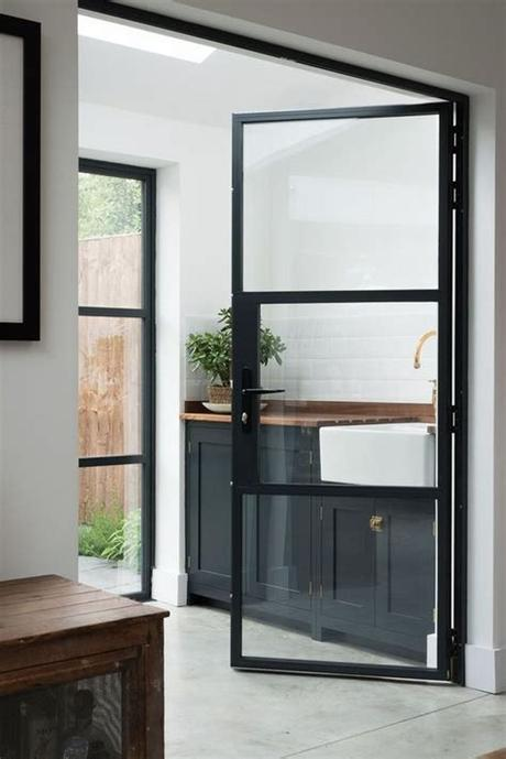 Homeowners who appreciate a bright and airy atmosphere will opt for an entryway fitted with single, double, or even triple glass units. 33 Stylish Interior Glass Doors Ideas To Rock - DigsDigs