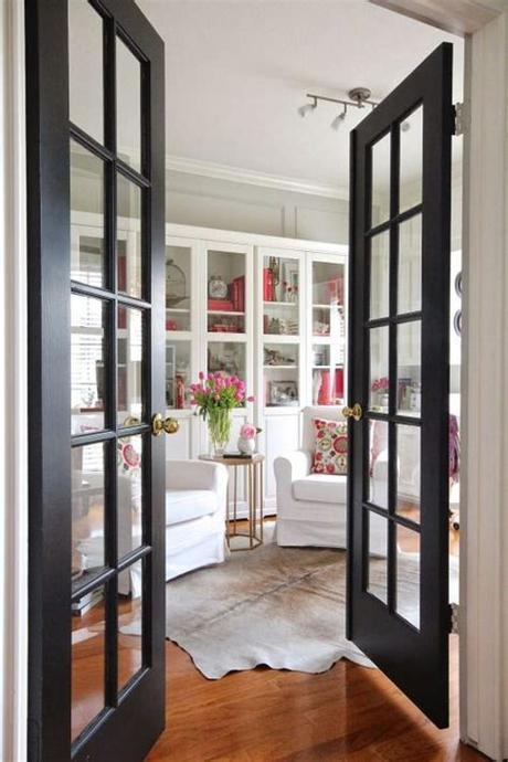 Designed for a singularly sleek look. 43 Stylish Interior Glass Doors Ideas To Rock - DigsDigs