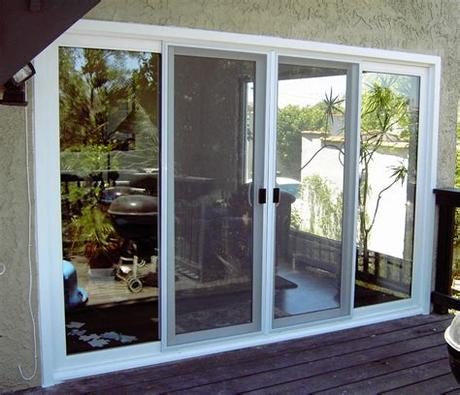 Doors up to 26'2 (7976 mm) wide and 20'1 (6121 mm) high; Patio Glass Doors - Harbor All Glass & Mirror, Inc.