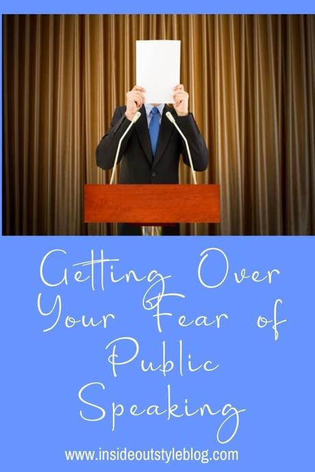Getting Over Your Fear of Public Speakin