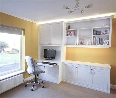 Home office furniture at argos. Fitted Home Office Furniture   Built in Solutions