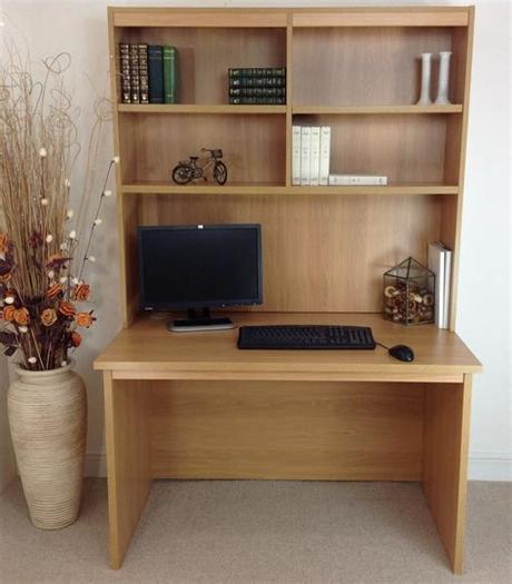 Home office furniture at argos. HOME OFFICE DESK WITH HUTCH   Margolis Furniture