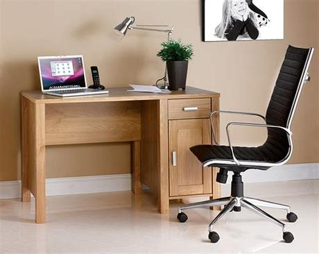 Unbeatable range of the uk's top quality home office furniture. Oak Effect Home Office Desk