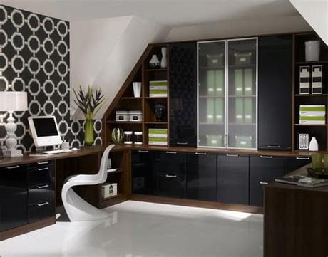 Our home office furniture includes home office chairs, home office filing cabinets, home office storage and accessories to ensure you get the most while working from your home office with everything you need. Fitted Home Office Furniture in London - Contemporary Showroom