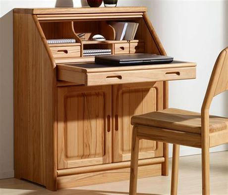 Still didn't find a home office of your dream? Fine home office furniture - solid wood Wharfside Danish ...