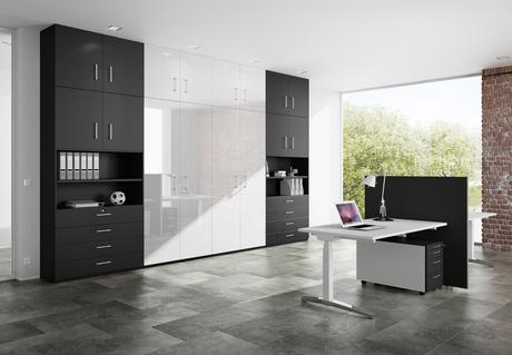 Modern Home Office - Dave Watson Fitted Furniture