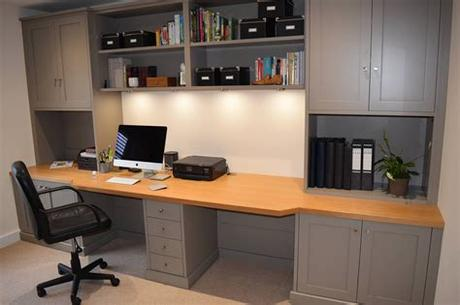 Shop the best uk selection of office furniture on furnish.co.uk, the luxury home interiors marketplace. Fitted Study Furniture Gallery