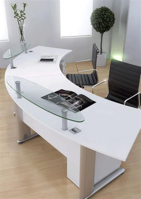 Our collection of designer home office furniture includes desks, office chairs and more to help you curate an office you will look forward to working in. Optima Reception Desk - City Office Furniture