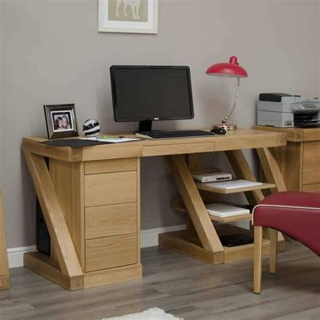 Furthermore, our home office furniture comes from established brands, including arista and jemini. Homestyle Gb Z Designer Oak Large Home Office Computer ...