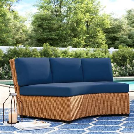 You'll love our affordable outdoor chair cushions, seat cushions & accent pillows from around the world. Sol 72 Outdoor Waterbury 8 Piece Indoor/Outdoor Curved ...