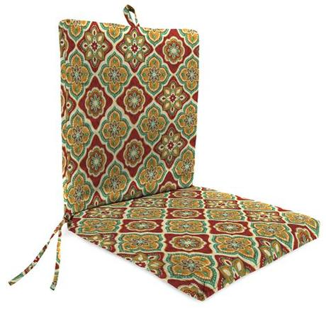 Buy outdoor cushions waterproof and get the best deals at the lowest prices on ebay! Jordan Manufacturing Adonis Outdoor Chair Cushion, Jewel ...