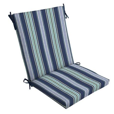 With fresh outdoor cushions, you can quickly update your patio furniture. Arden Selections Sapphire Aurora Stripe 44 x 20 in ...