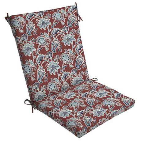 Outdoor patio cushions are available for a variety of different types of outdoor furniture, including chaise lounges, benches, and dining chairs. Arden Selections Caspian 44 x 20 in. Outdoor Chair Cushion ...