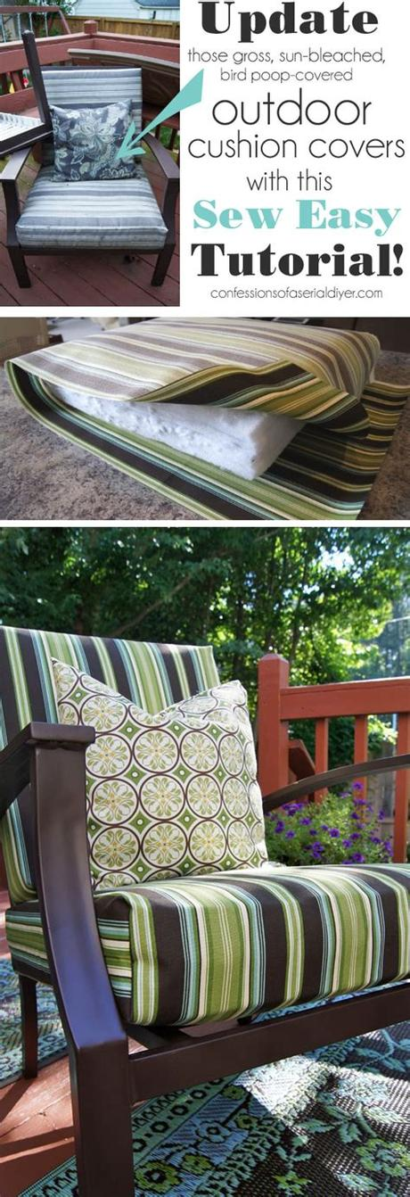 (updated) + bonus outdoor cushions buyer's guide! Sew Easy Outdoor Cushion Covers {Oldie, but Goodie ...