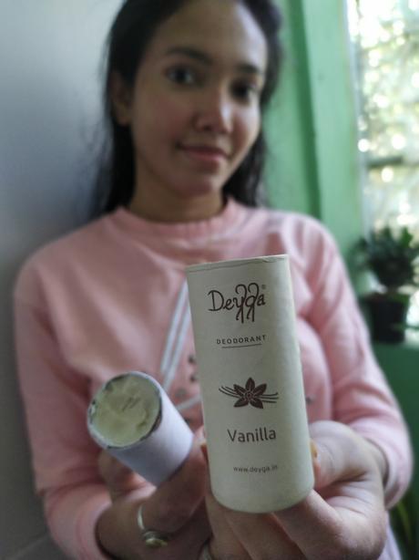 My experience on using Deyga Lip Balm and Vanilla Deodorant