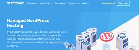 FastComet WordPress Hosting Review
