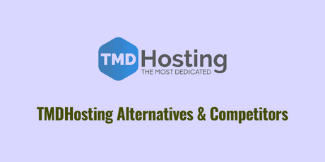 tmdhosting alternatives and competitors