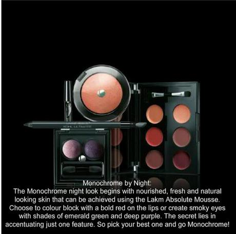 Perfect Day and Night Makeup Looks by Lakme Absolute Monochrome Collection