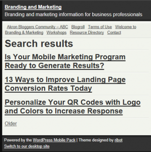 How Does Your Website Look on a Smart Phone?