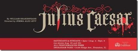 Review: Julius Caesar (Muse of Fire Theatre, Evanston)