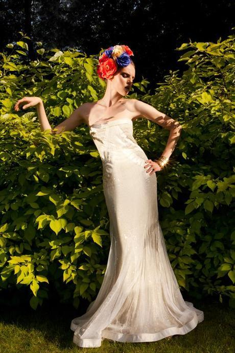 Polish Fashion Photographer Ela Zubrowska Flowers and Balloons