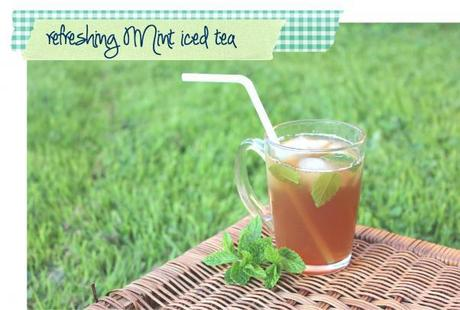 Refreshing summer drinks – some new iced tea recipes