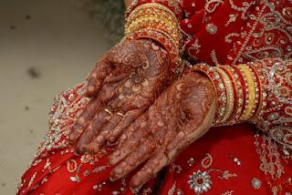Latest Indian Wedding Mehndi Pictures