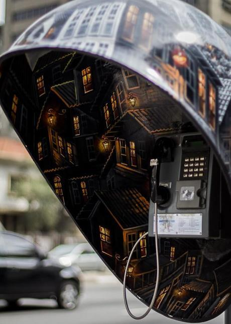 100 Artists Design 100 Phone Booths in São Paulo