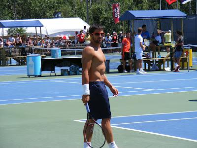 Rogers Cup Photos: Djokovic and Tipsarevic Practice