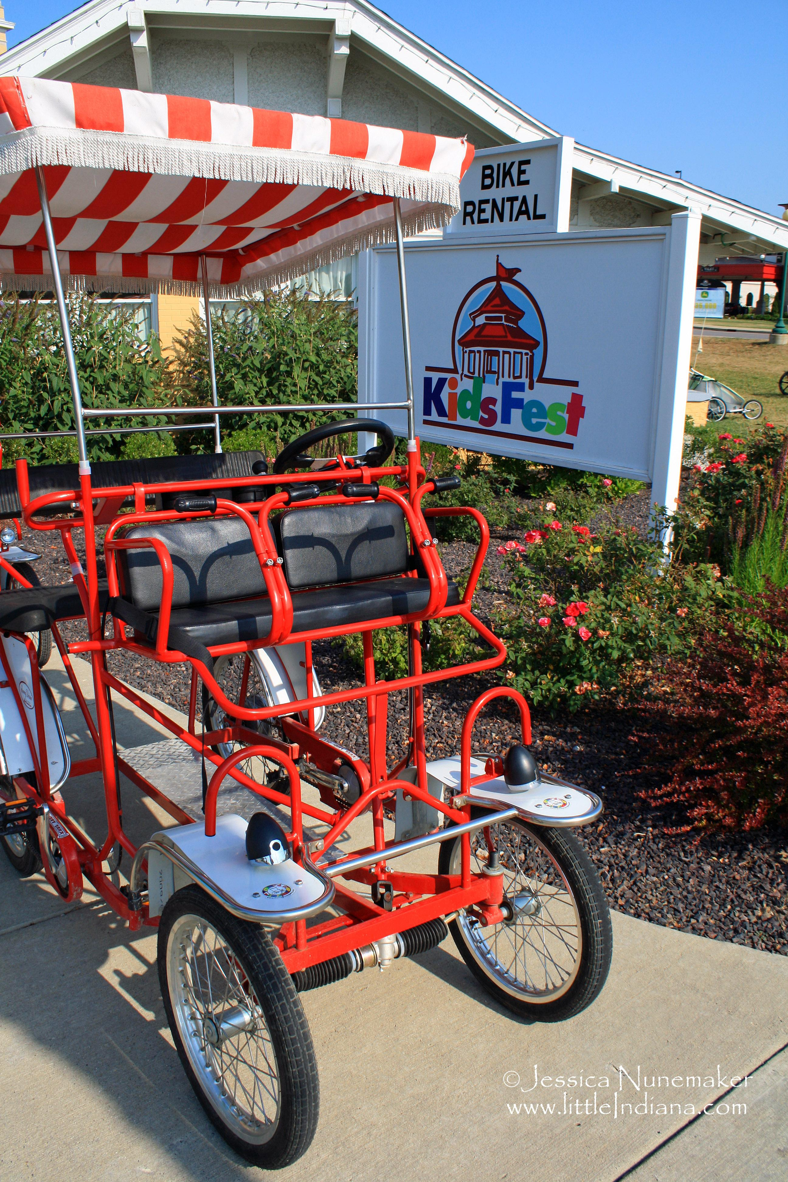 French Lick Springs Resort: Bike Rental in French Lick, Indiana