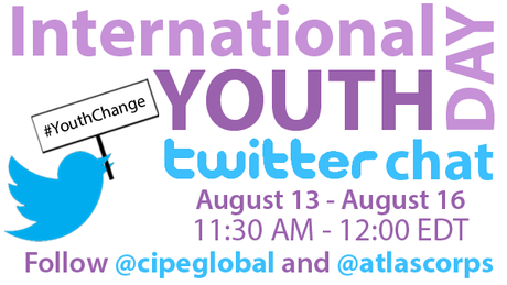 Join Us on Twitter for International Youth Day
