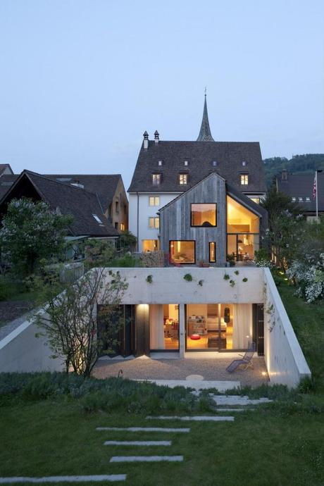 Kirchplatz Office & Residence by Oppenheim Architecture + Design