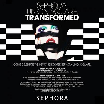 Sephora Union-Square Grand Re-Opening Event