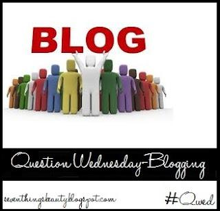 Question Wednesday---All About Blogging!