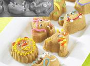 Make Muffins Animal Shapes