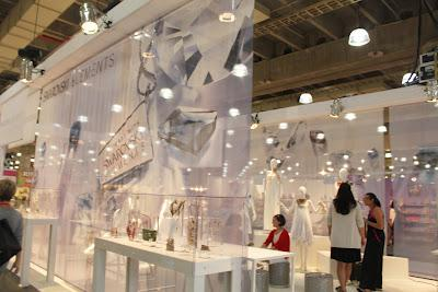 Swarovski Elements Lounge at ENK's Accessorie Circuit Intermezzo Collections Show