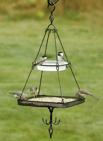 Multi Level Platform Bird Feeder: via duncraft.com