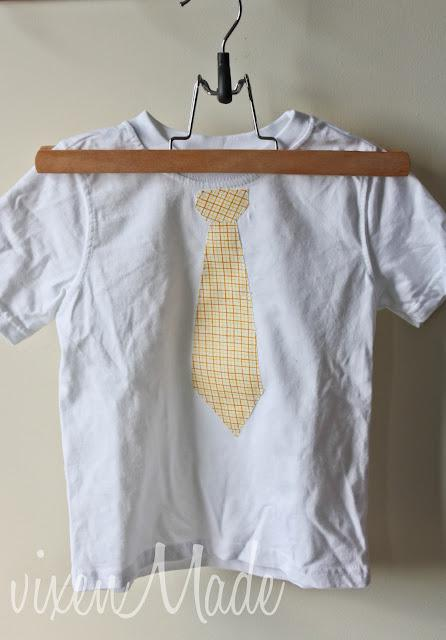 Appliqued Tie Shirts