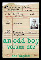 an odd boy volume one front cover detail