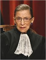 Expressing my sympathy for Justice Ginsburg…