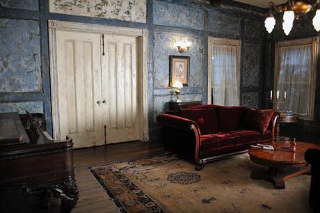 True Blood Set Design: Bill Compton's Couch On Display At Paley Center