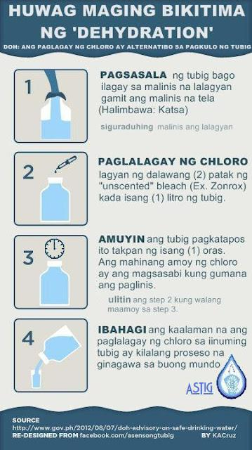 How to make Safe Drinking Water during Calamity